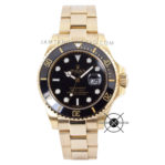 Submariner Date Full Gold Black Dial Ceramic Bezel 43mm