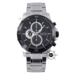 AC 6473 MC Silver Black Dial