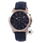 Grant Chronogaph FS4835 Blue Navy Rose Gold
