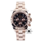 Cosmograph DAYTONA Rose Gold Black Dial 116505