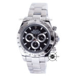 DAYTONA Steel Black Dial 116520