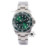 Submariner Silver Green HULK 40mm Ceramic
