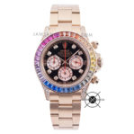 Sultan Cosmograph Daytona Rainbow Everose 116595-RBOW Diamond