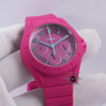 ES4065 POPTASTIC SPORT MULTIFUNCTION PINK SILICONE WATCH