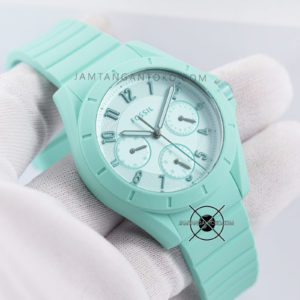 Fossil POPTASTIC ES4188 Green SPORT Hands ON 1