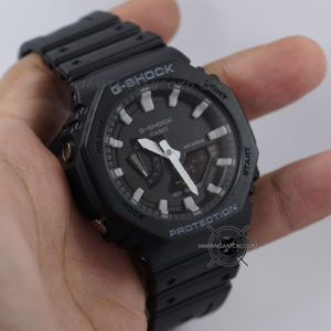 G-Shock GA-2100-1A Black Original BM Hands ON 1