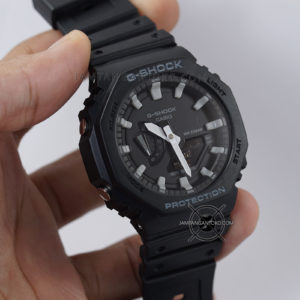 G-Shock GA-2100-1A Black Original BM Hands ON 2