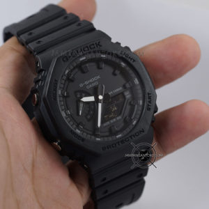 G-Shock GA-2100-1A1 Fullblack Original BM Hands ON 1