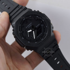 G-Shock GA-2100-1A1 Fullblack Original BM Hands ON 2