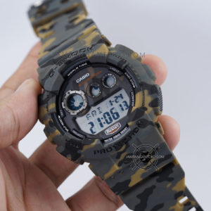 G-Shock GD-120CM-5 Camo Brown Loreng Coklat Army ORI BM Hands ON 1