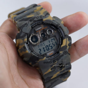 G-Shock GD-120CM-5 Camo Brown Loreng Coklat Army ORI BM Hands ON 2