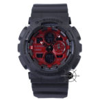GA-140AR-1A Black Red Dial Special Color Series