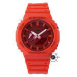 GA-2100-4A Carbon Core Full Red Unisex