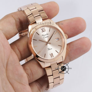 Alexandre Christie Wanita AC 2840 LD Full Rose Gold Hands ON 1