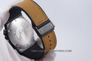 HUBLOT Classic Fusion Berluti Chronograph 45mm Limited Edition Black Brown KW Super AAA Realpict Bagian Strap