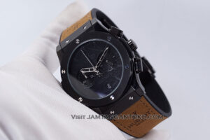 HUBLOT Classic Fusion Berluti Chronograph 45mm Limited Edition Black Brown KW Super AAA Realpict Hands ON 2