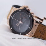Classic Fusion Berluti Chronograph 45mm Limited Edition Black Rose Gold