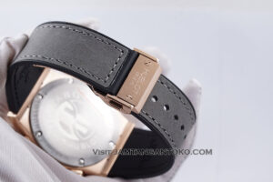 Hublot Classic Fusion Berluti Chronograph 45mm Limited Edition Grey Rose Gold KW Super AAA Realpict Bagian Strap