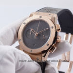 Classic Fusion Berluti Chronograph 45mm Limited Edition Grey Rose Gold