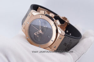 Hublot Classic Fusion Berluti Chronograph 45mm Limited Edition Grey Rose Gold KW Super AAA Realpict Hands ON 3