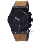 Classic Fusion Berluti Chronograph 45mm Limited Edition Black Brown
