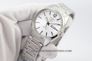 AC 1012 ME Rantai Full Silver Pria Day-Date Hands ON 2