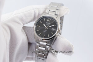 AC 1012 LD Primo Silver Black Dial Wanita Original Hands ON 2